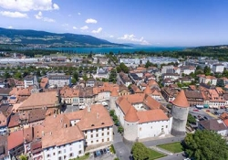 Vallorbe Caves - Orbe - Grandson castle - The Menhirs at Clendy - Yverdon-les-Bains