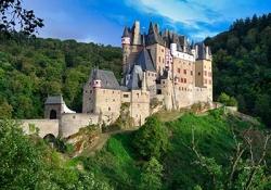 Burresheim castle - Imperial Castle in Cochem - Eltz Castle