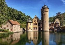 Johannisburg castle - Mespelbrunn Castle - Miltenberg