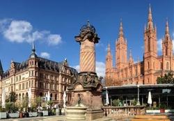 Wiesbaden - Wiesbaden City Palace - Mainz