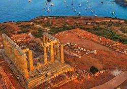 Marathon Lake - Marathon - Cape Sounio - temple of Poseidon - Vouliagmeni Lake