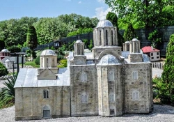 Manasija Monastery - Resava Cave - Lisine Waterfalls - park of Serbian monasteries models in Despotovac