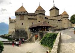 Castle Chillon - Gruyeres - Gruyeres cheese factory -